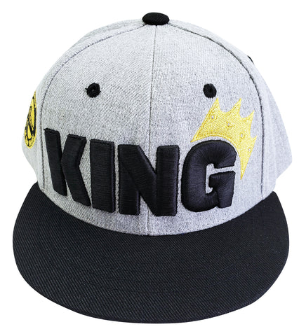 "Infant & Toddler Snapback Embroidered ""King"" hat- 30 Day Free Trial enter discount code ""FREETRIAL"" at checkout"