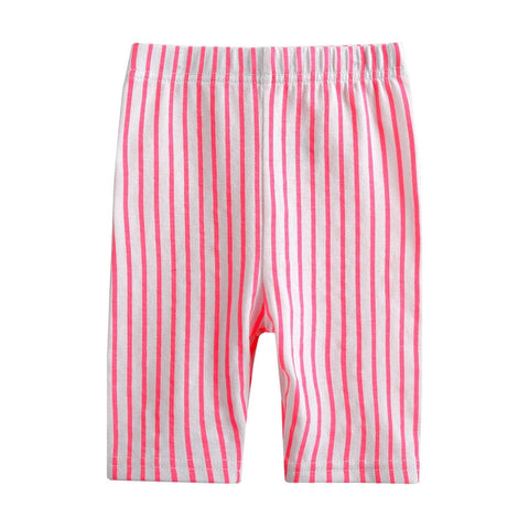 Unisex Bright Stripes Cotton leggings