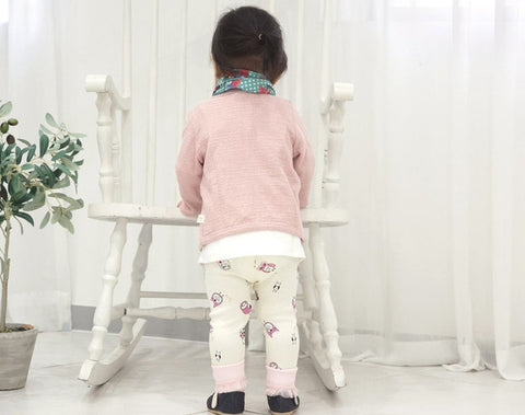Agibaby Girls Infant & Toddler Owl Leggings