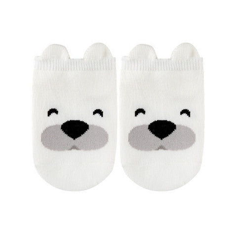 Cute Animal Ankle Socks- Polar Bear
