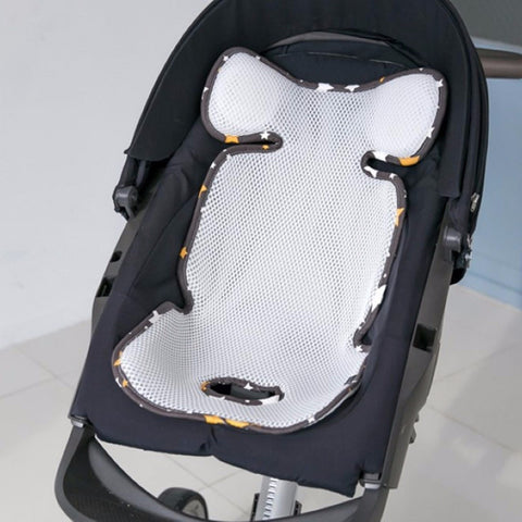Agibaby Q 3D Air Mesh Basic Cool Seat Liner - Shiny Star