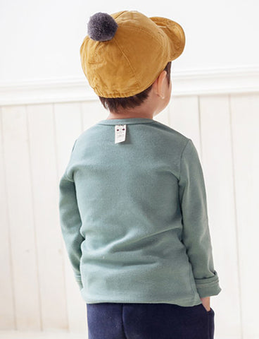 "Agibaby Boys and Girls Infant & Toddler long Sleeves Tshirts ""Duckling"""