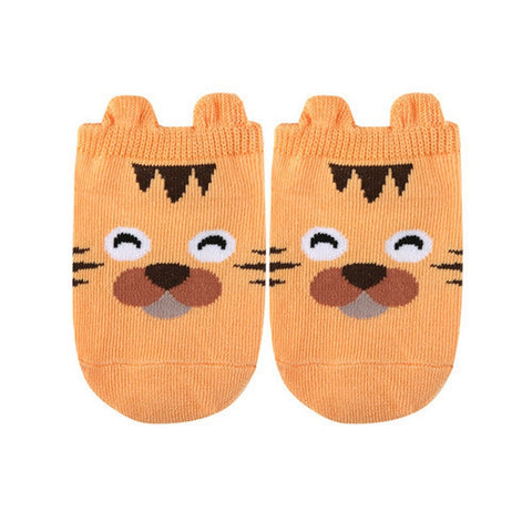 Cute Animal Ankle Socks- Tiger