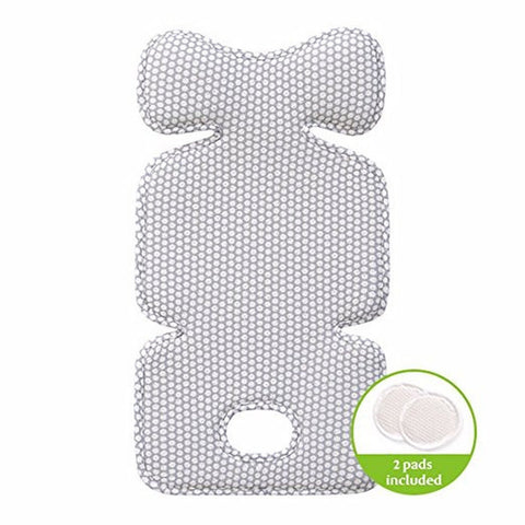Agibaby 3D Air Mesh Premium Cool Seat Liner- Blue Elephant- 22 unique designs