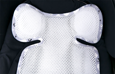 Bebenuvo 3D Air Mesh Basic Cool Seat Liner- 5 Designs Available