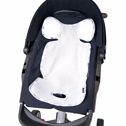 Agibaby Q 3D Air Mesh Basic Cool Seat Liner - Snow World