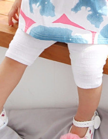 Unisex Cotton Capri leggings
