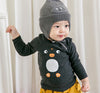 "Image of Agibaby Boys and Girls Infant & Toddler long Sleeves Tshirts ""Penguin"""