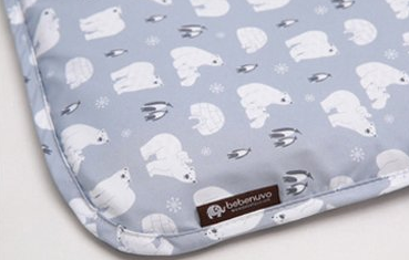 Bebenuvo Microfiber Anti-Bacteria Pillow - Snow World
