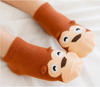 Image of Cute Animal Ankle Socks- Monkey