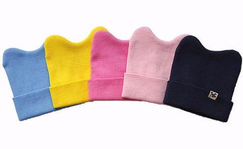 Agibaby Kkakkungnoriter Organic cotton beanie hat for baby - multiple colors- made in South Korea