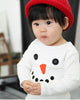 "Image of Agibaby Boys and Girls Infant & Toddler long Sleeves Tshirts ""Snowman"""