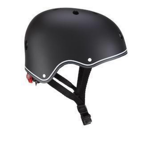 Casco con luces LED XS-S - Negro