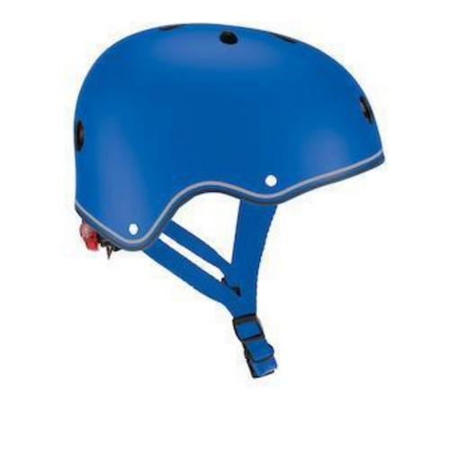 Casco con luces LED XS-S - Azul