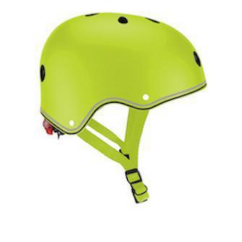 Casco con luces LED XS-S - Verde
