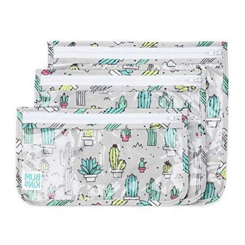 Clear Travel Bag-Cactus