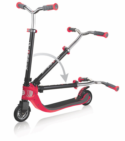 Scooter -  Flow Rojo Plegable
