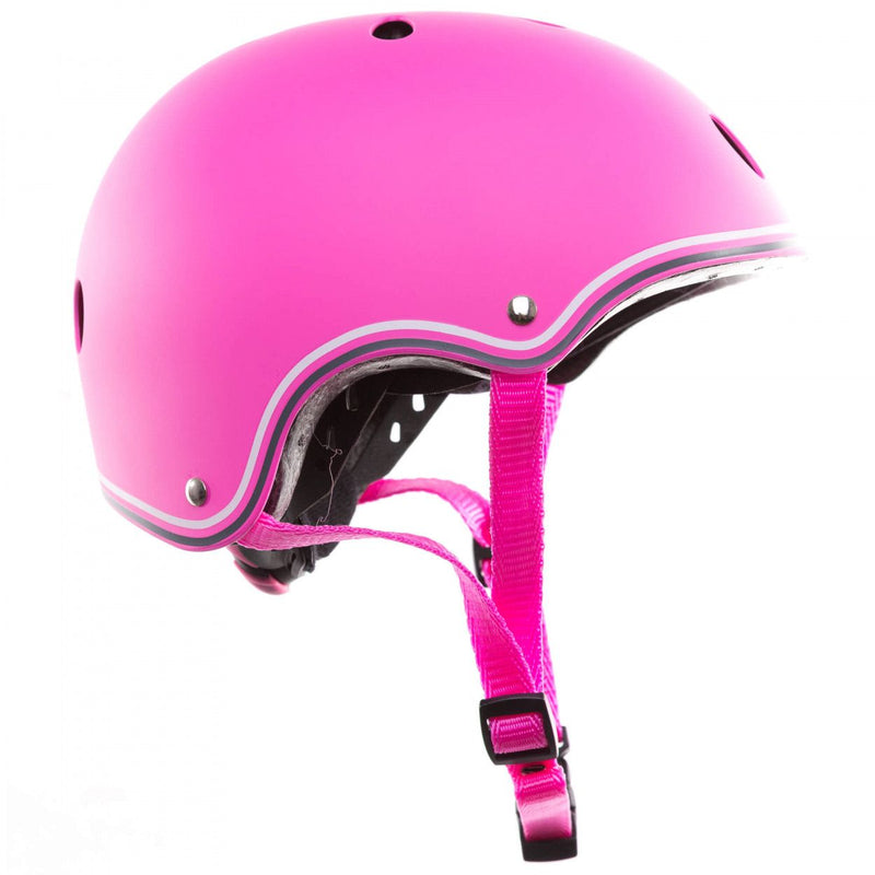 Casco con luces LED XS-S - Rosado