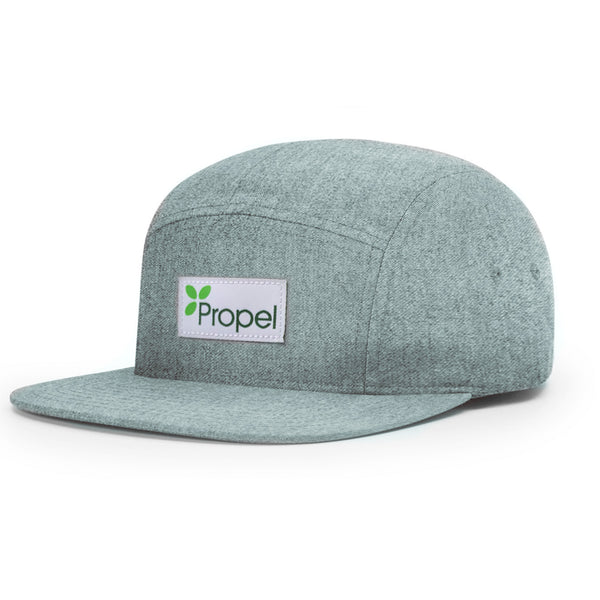 Propel Camp Cap - Heather Grey