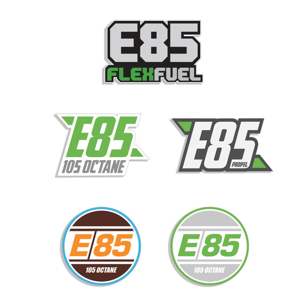 E85 Decal Bundle