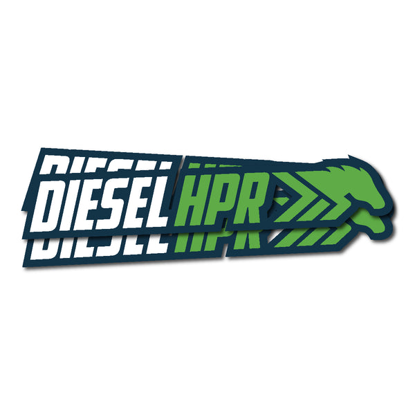 HPR Die Cut Long Decal 6.5""