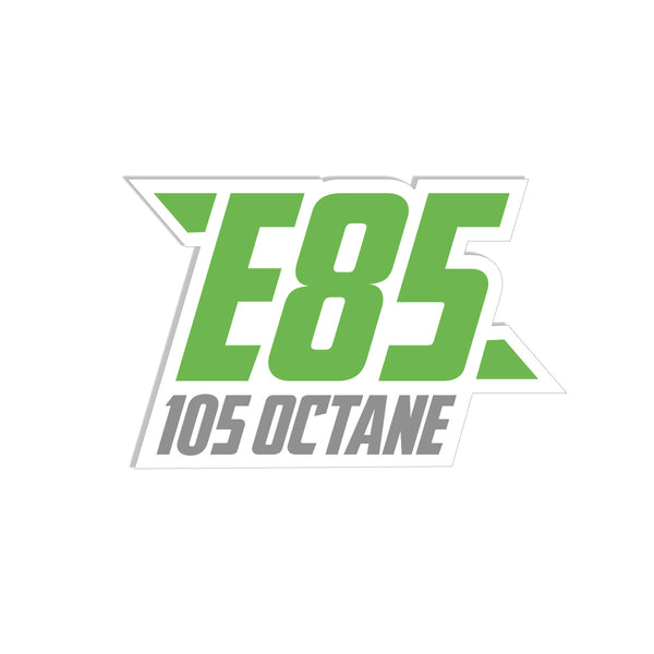 E85 - 105 Octane Decal 4""