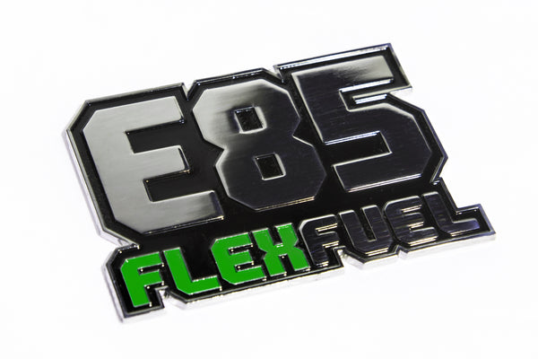 Flex Fuel E85 Badge 3.75""