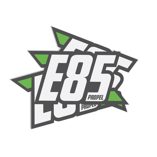 E85 Propel Decal 4""