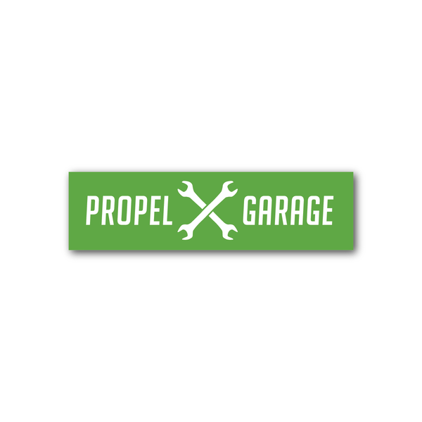 Propel Garage Decal - 4.5""