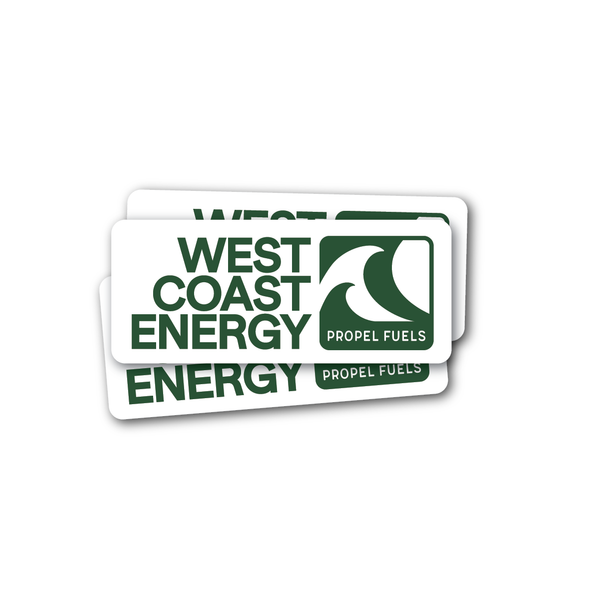 West Coast Energy Decal - 4""
