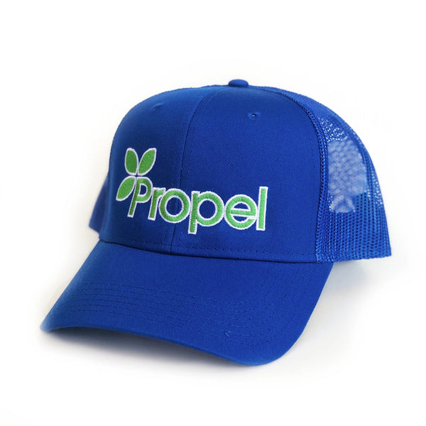 Propel Stitched Trucker - Blue