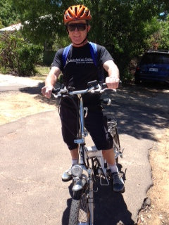 chris on bike