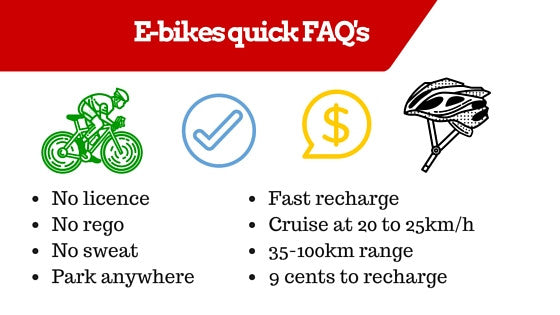 e bike quick faqs