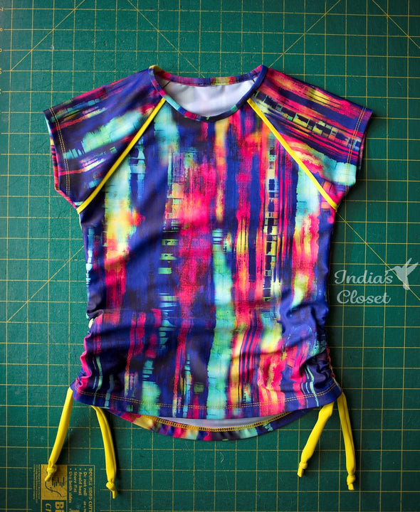 Pattern Hack: Rashie Sleeve Binding