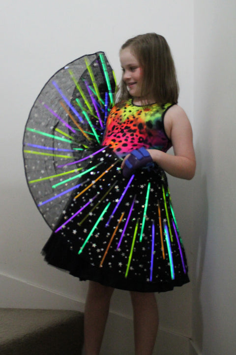 Pattern Hack: Glow Stick Dress
