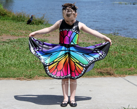 2d3fcdcc9648 Butterfly Wings - Circle Skirt – BOO! Designs