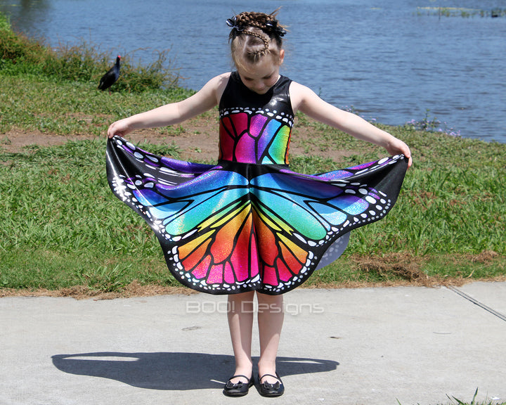 Butterfly Wings - Circle Skirt