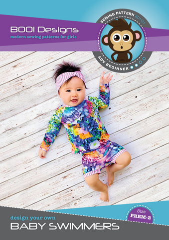 PDF Pattern: Baby Swimmers