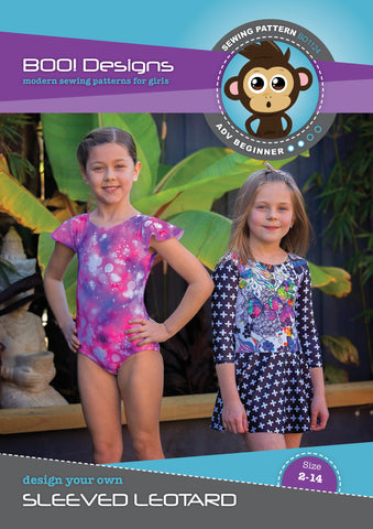 PDF Pattern: Sleeved Leotard