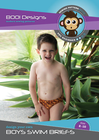 PDF Pattern: Boys Swim Briefs FREE