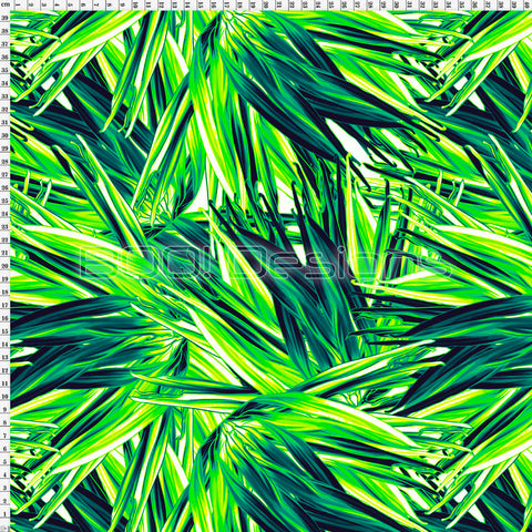 Spandex Palms Neon Lime