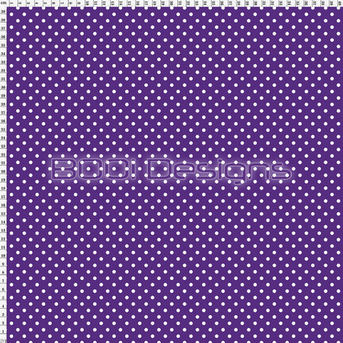 Spandex Spots Candy Purple