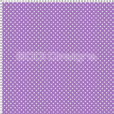 Spandex Spots Warrior Purple