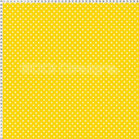 Spandex Spots Warrior Yellow