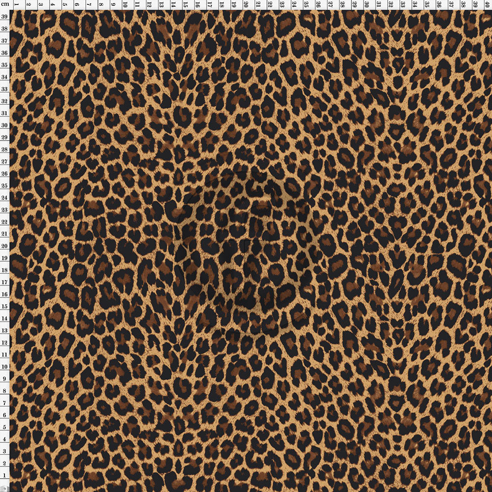Spandex Cheetah Natural