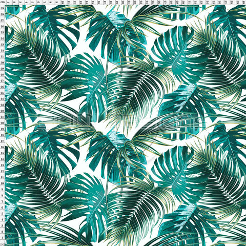 Spandex Tropical Palm