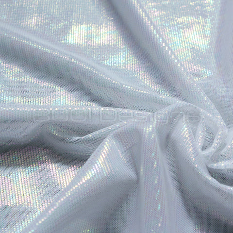 Spandex Stretch Net Magical White