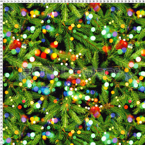 Spandex Christmas Fir Lights