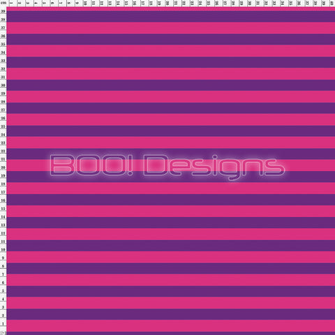 Spandex Stripes 14mm Pink Purple