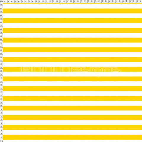 Spandex Stripes 14mm Warrior Yellow